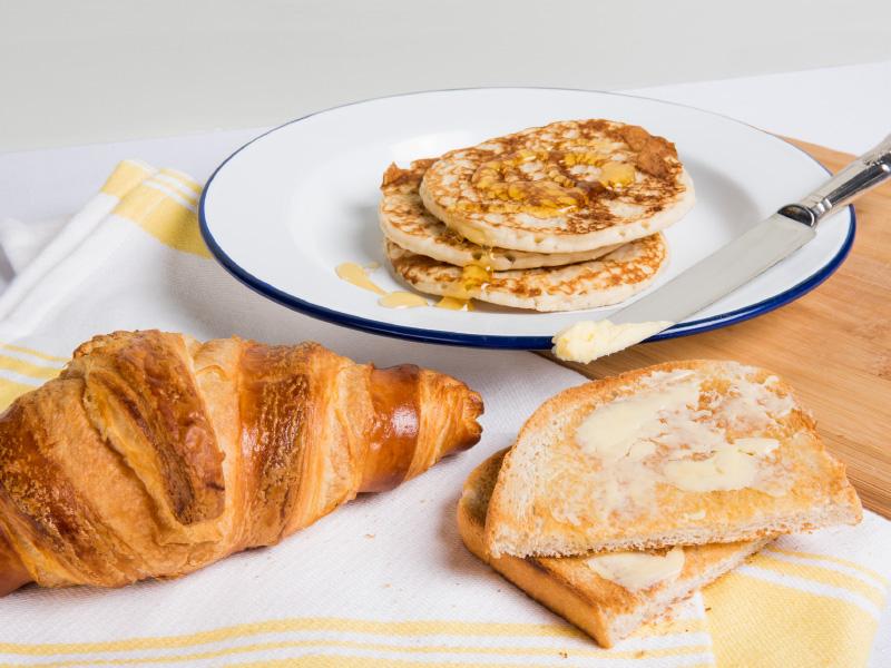 Bakers + Baristas Breakfast Menu