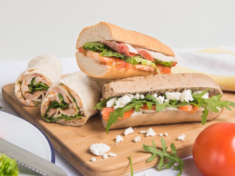 Bakers + Baristas Sandwich and Deli Menu