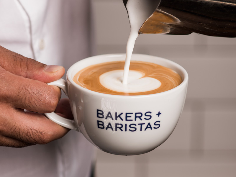 The Bakers + Baristas Coffee