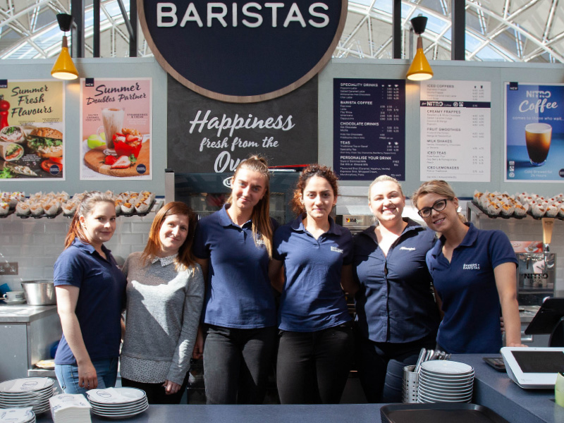 The Bakers + Baristas Team