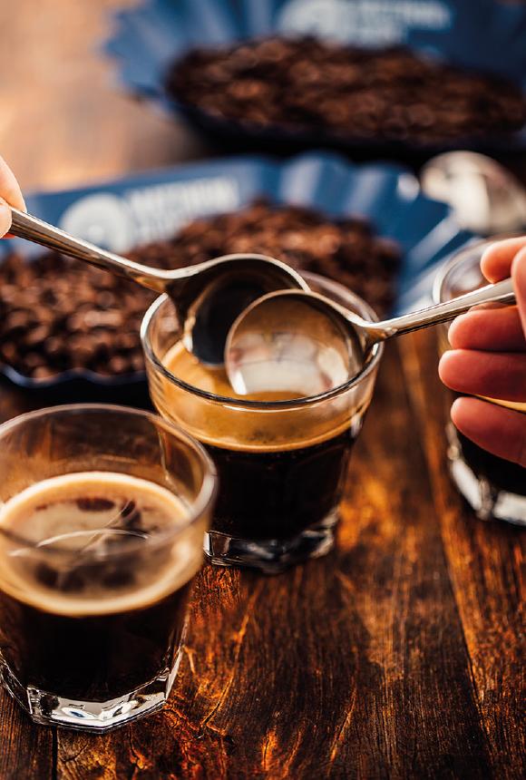 Brewing Fresh Coffee