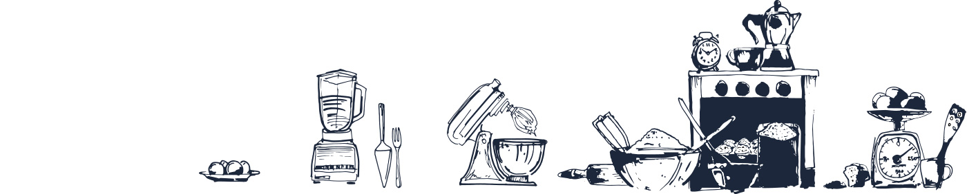 Bakers + Baristas Utensils Graphic