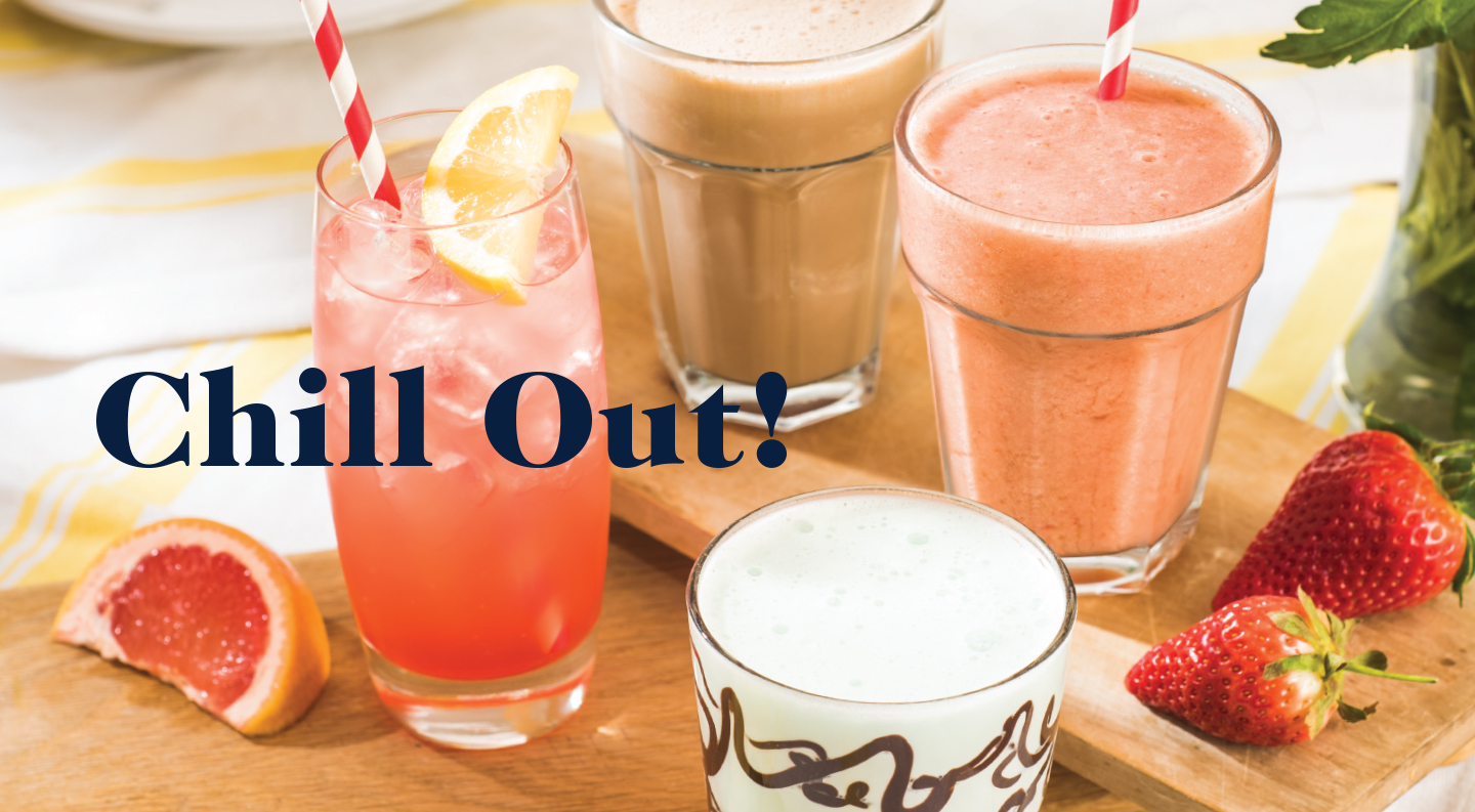 New summer chilled drinks